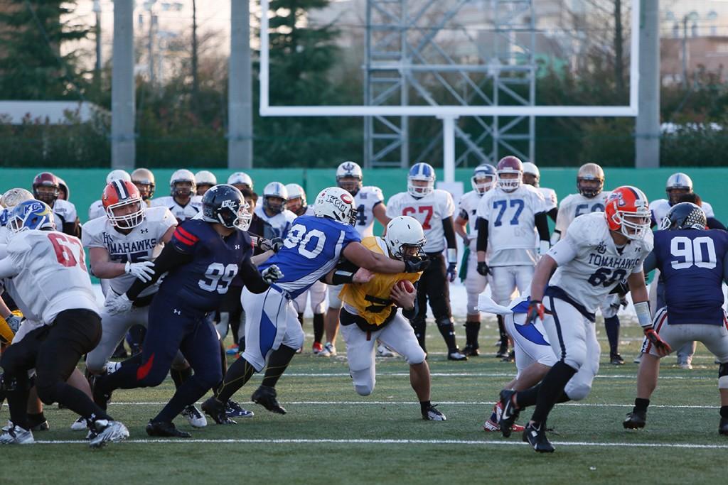 2014年に行われたJAFAフットボールアカデミーキャンプ(カレッジ/東日本)の様子/写真提供:JAFA