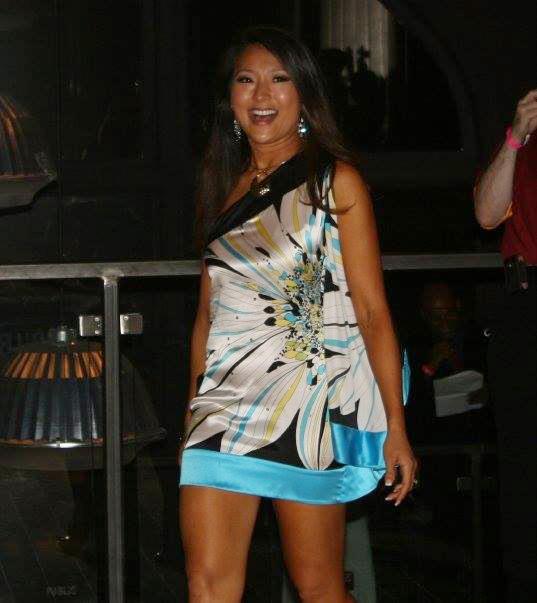 ドレス審査ではアジアンを強調して衣装をセレクト