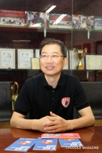 U19世界選手権、2年後の大学世界選手権開催のキーパーソン、中国AFU李肯チェアマン